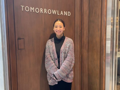 Fashion People Magazine【TOMORROWLAND 雫田葵さん】